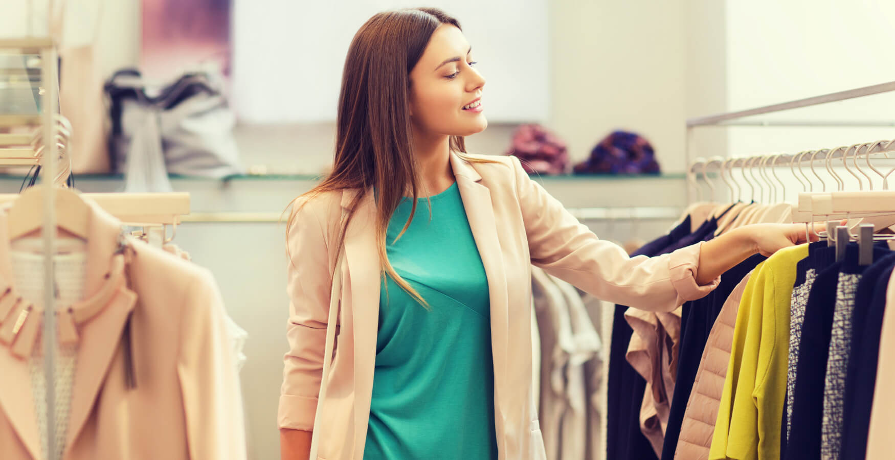 Kategorie-Bilder-Hintergrund-Frau-beim-Einkaufen
